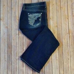 NWOT Boutique + embellished jeans